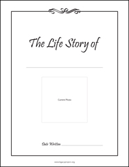 Fill In The Blanks Life Story Www Legacyproject Org