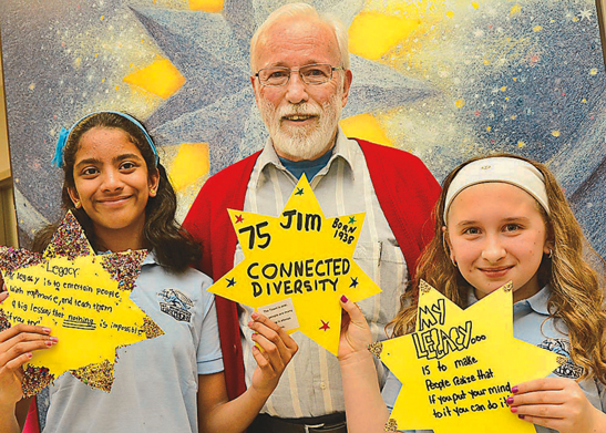 WS YOU 177 One Town, One Book Launch at St. Brendan School, photo courtesy of Stouffville Sun-Tribune