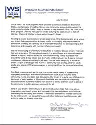 WSP Library Letter