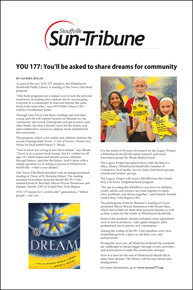YOU 177: You'll be asked to share dreams for community